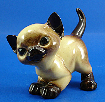 Hagen-renaker Dw Siamese Kitten An How