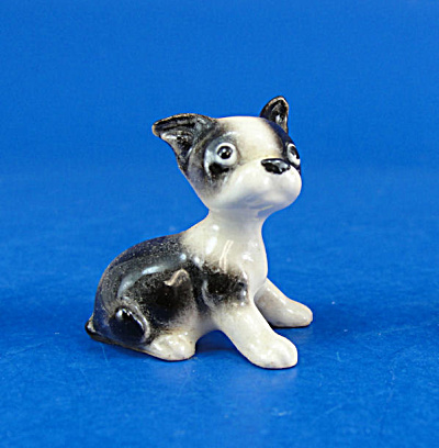Hagen-renaker Miniature Boston Terrier Puppy