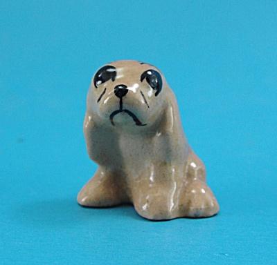 Hagen-Renaker Miniature 1950s Tan Spaniel Puppy (Image1)
