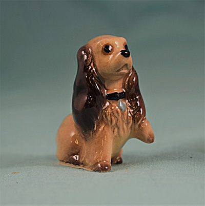 Hagen-renaker Miniature Sitting Cocker Spaniel