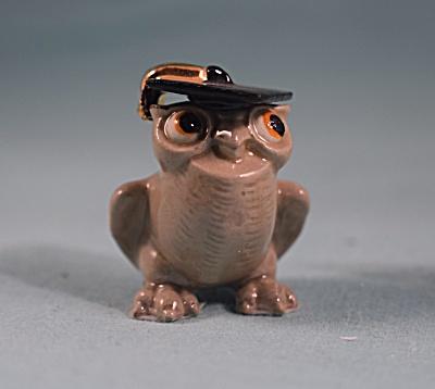 Hagen-Renaker Miniature Professor Owl (Image1)