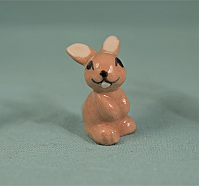 Hagen-renaker Miniature Ears Up Baby Bunny