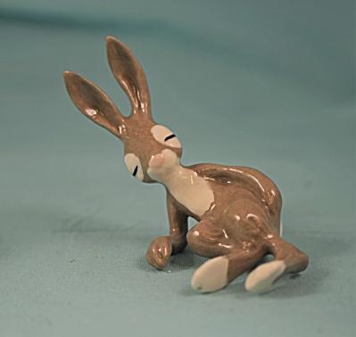 Hagen-Renaker Miniature Resting Hare (Image1)