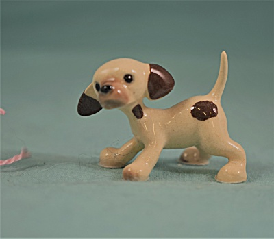 Hagen-renaker Miniature Standing Pointer Puppy