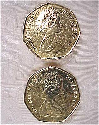 British New Pence Earrings (Image1)