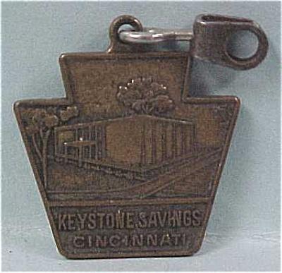 1964 Keystone Savings Cincinnati Zipper Pull (Image1)