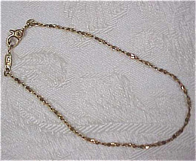 Monet Goldtone Bracelet