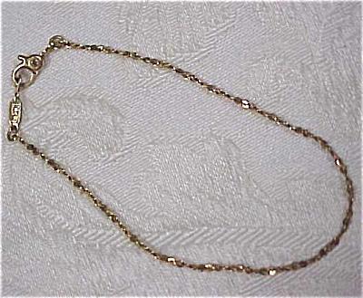 Monet Goldtone Bracelet (Image1)