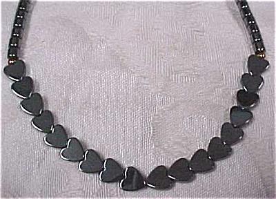 Genuine Hematite Bead Necklace (Image1)