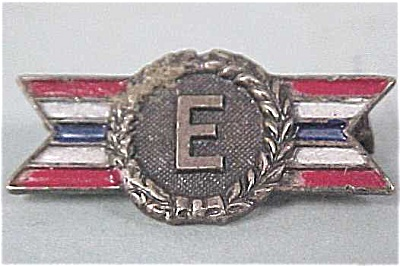 Small Military Metal 'E' Production Award (Image1)