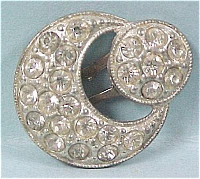Small Rhinestone Dress Clip (Image1)