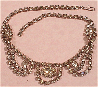 Rhinestone Choker Necklace (Image1)