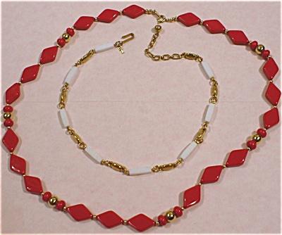 Trifari Necklace Pair (Image1)
