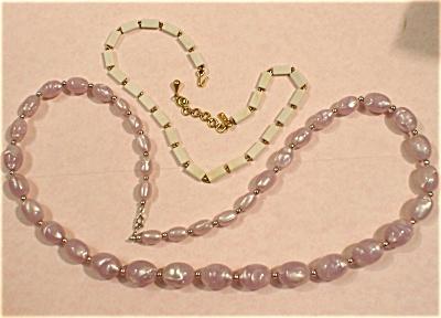 Monet Necklace Pair (Image1)