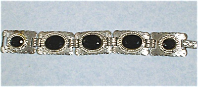 Southwest Style Silvertone Bracelet (Image1)