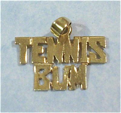14kt Tennis Bum Charm or Pendant (Image1)