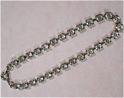 Rhinestone Tennis Bracelet (Image1)