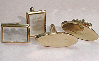 Two Pair Of Cufflinks