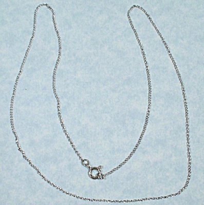 Sterling Silver Necklace (Image1)