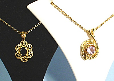 Two New Goldtone Necklaces