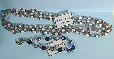 Sterling Necklace And Bracelet By Charlynn Hayes