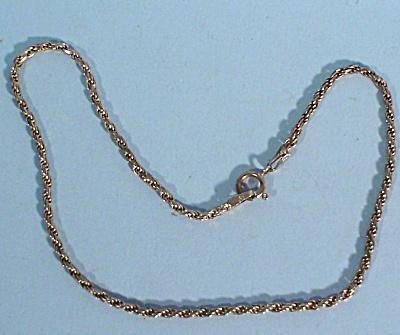 Sterling Silver Anklet (Image1)