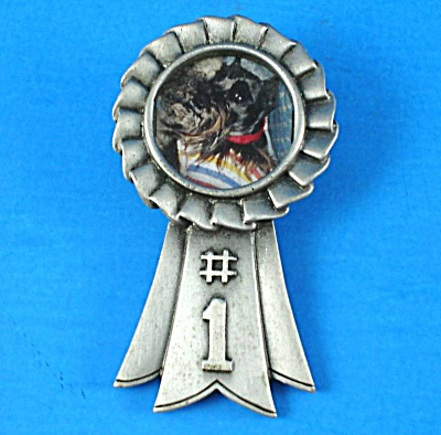 Jonette Jewelry #1 Award Ribbon Picture Frame Pin (Image1)