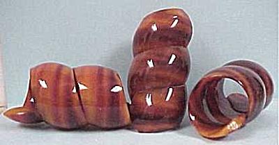 Imitation Tortoise Napkin Rings (Image1)