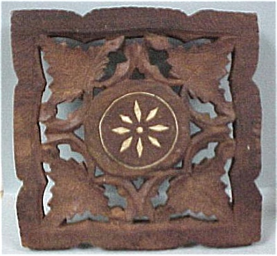 Carved Wood Trivet (Image1)