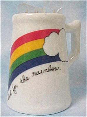 Rainbow Mug Toothpick Holder (Image1)