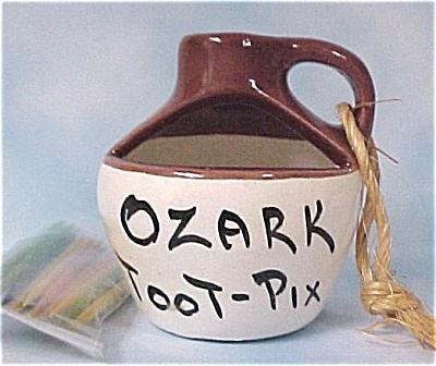 Ozark Toot-pix Jug Toothpick Holder (Image1)