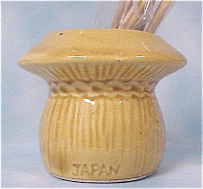 Yellow Wheat Bundle Toothpick Holder (Image1)