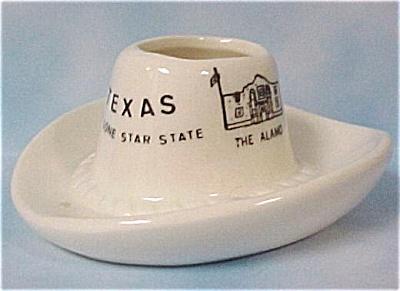 Texas Souvenir Hat Toothpick Holder (Image1)