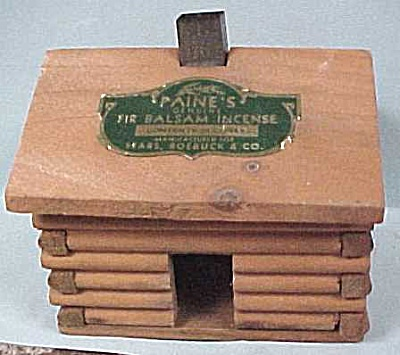 Vintage Sears Roebuck Incence Cabin (Image1)