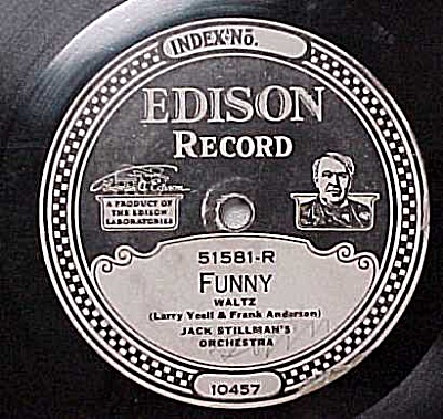 Edison Record #51581: 'Day Dreaming' 'Funny' (Image1)