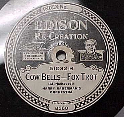 Edison Record #51032: 'My Southern Home' 'Cow Bells' (Image1)