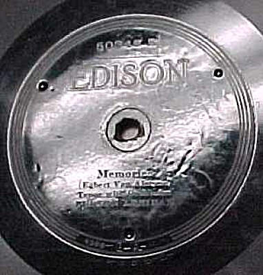 Edison Record #50345: 'wonderful Mother', 'memories'