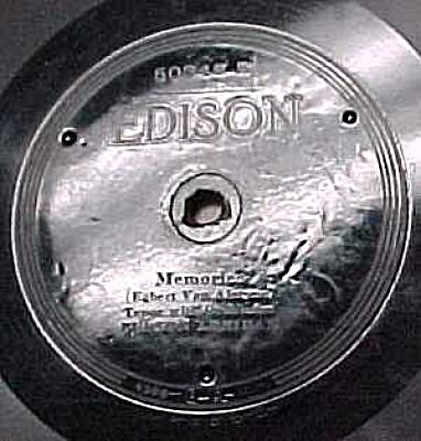 Edison Record #50345: 'Wonderful Mother', 'Memories' (Image1)