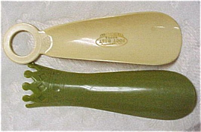 Two Advertising Shoehorns (Image1)