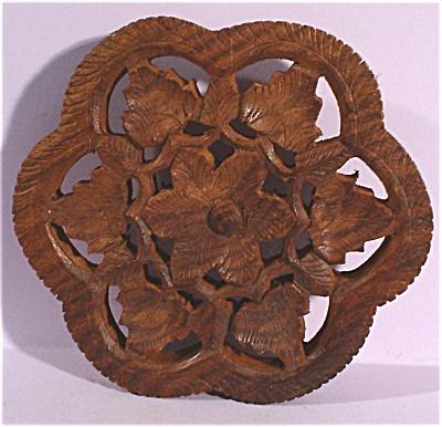 Carved Wood Trivet (Image1)