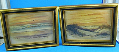 Wm Blackman Ocean Sunset Print Pair (Image1)