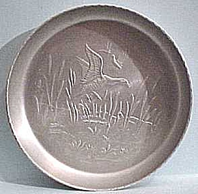 Aluminum Duck Plate or Large Coaster (Image1)