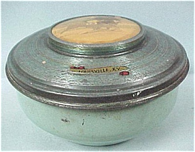 Tin Covered Pin Box