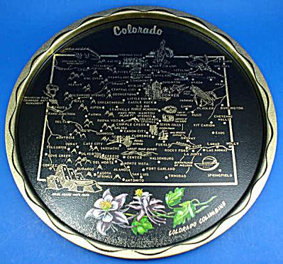 Colorado Souvenir Metal Tray (Image1)