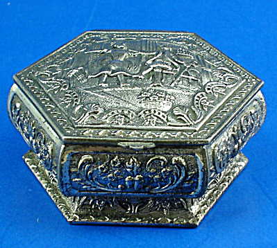Small Metal Jewelry Box