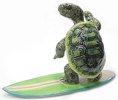R069 Surfing Turtle