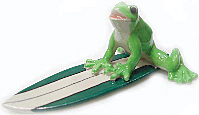 R059 Surfing Frog