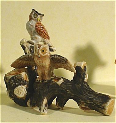 K4831b Owls on Branch (Image1)