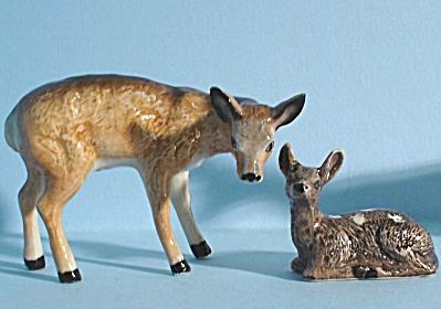 K0772 Doe and Fawn Deer Pair (Image1)