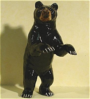 R015r Black Bear Standing (Image1)